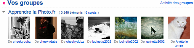groupe critique photo flickr